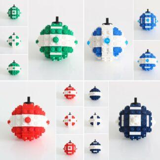 Boules de Noël LEGO
