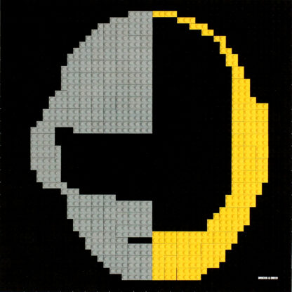 Tableau de Daft Punk en Lego