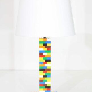 Multicolore lampe Lego