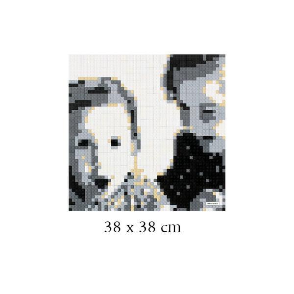 Tableau personnalisé 38 x 38 cm