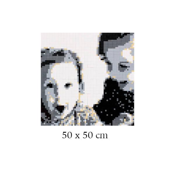 Tableau personnalisé 50 x 50 cm
